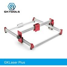 GKTOOLS DIY все металлические 100*100 см 500 МВт, 2500 мвт, 7500 МВт CNC лазерное гравированное дерево резак гравировальный станок PWM, GRBL Benbox EleksMaker