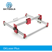 GKTOOLS DIY All Metal 100*100cm 500mW,2500mW,7500mW CNC Laser Engraver Wood Cutter Engraving Machine PWM,GRBL Benbox EleksMaker