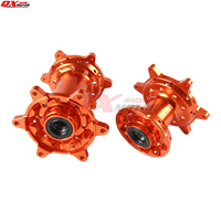 CNC Billet 36 Holes MX Front and Rear Wheels Hubs Set New For KTM 125 530 2003 2017 2004 2005 2006 2007 2008 2009 2010 2012 2013