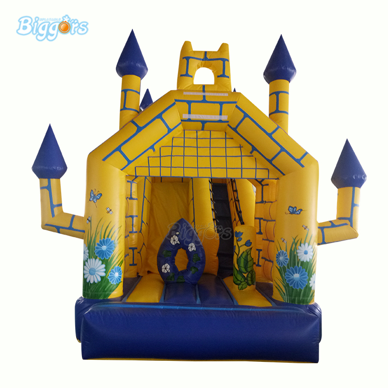 YARD Commercial PVC Inflatable Trampoline Jumper Bounce House Bouncy Castle With SlideYARD Commercial PVC Inflatable Trampoline Jumper Bounce House Bouncy Castle With Slide