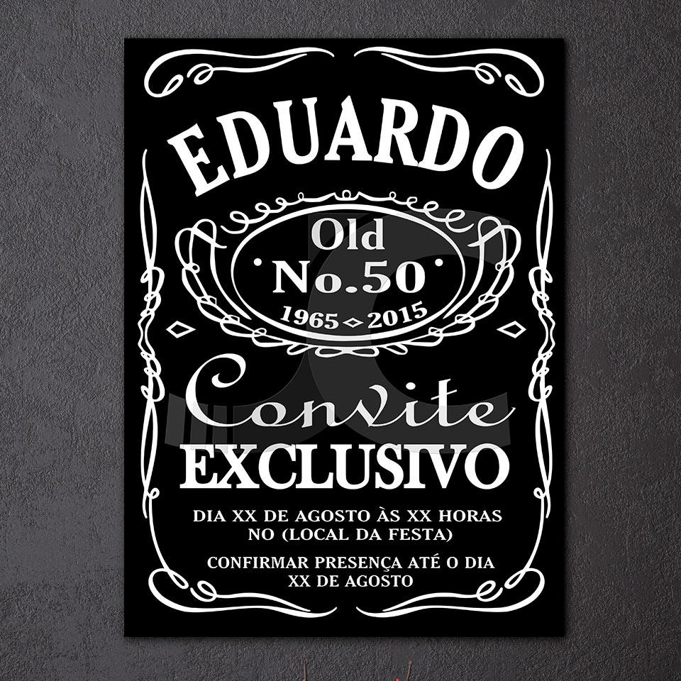 Venta caliente HD impreso lienzo pintura Eduardo Jack Daniel cartel ...