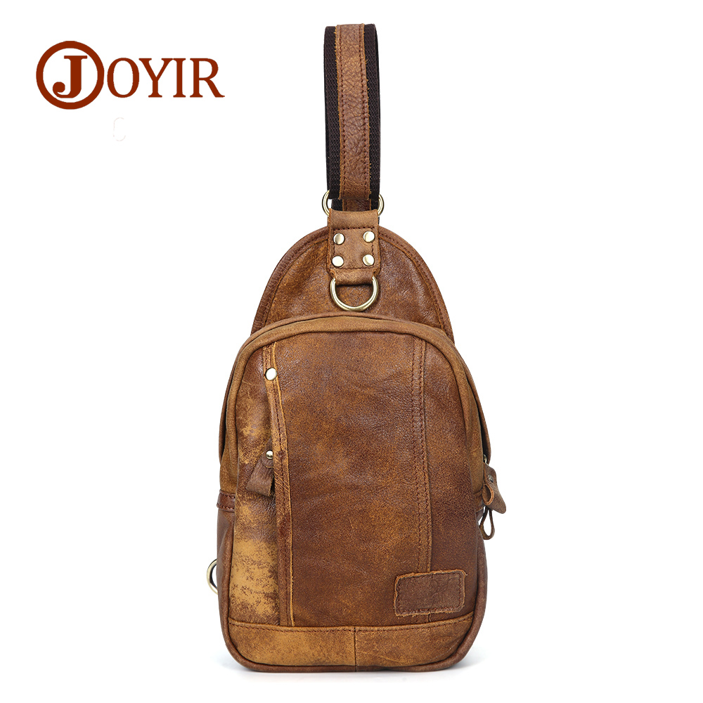 New arrival 2018 genuine leather men bag cowhide men chest pack for men mini crossbody chest bags casual small shoulder bag joyir new arrival genuine leather cowhide chest pack men s crossbody chest bags casual small shoulder bag for male man bag 1308 page 7