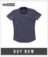 повседневное для мужчин тонкий подходит рубашка с короткий рукав стильные шорты лето однобортный синий rugular рубашка