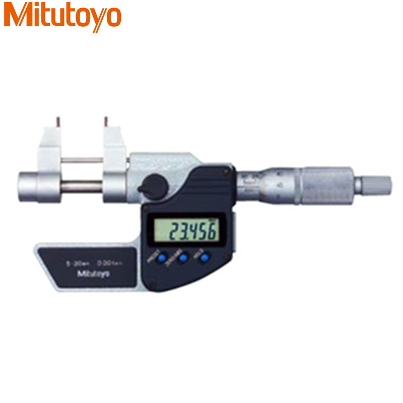 100% Original Japan Mitutoyo Digital Inside Micrometer 5-30mm Electronic Gauge Measuring Tools цена