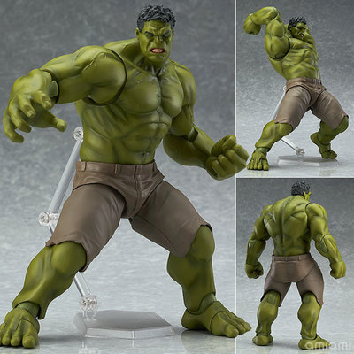 <font><b>The</b></font> <font><b>Avengers</b></font> <font><b>Hulk</b></font> <font><b>Figma</b></font> <font><b>271</b></font># 1/7 scale painted <font><b>PVC</b></font> Action <font><b>Figure</b></font> Collectible Model Toy 17cm Retail <font><b>Box</b></font> WU065
