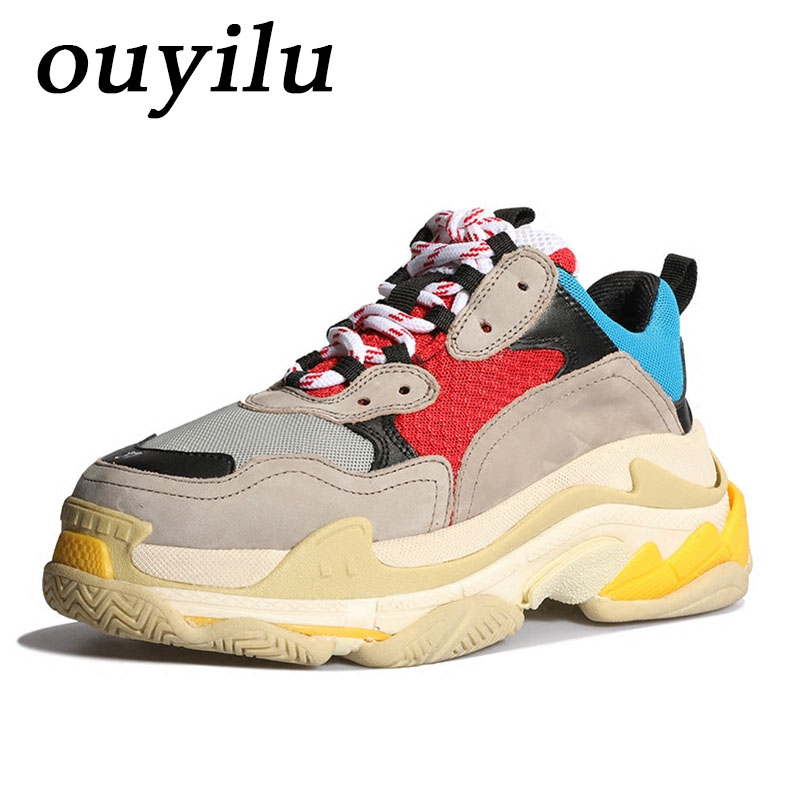 2018 ouyilu Man Woman Brand Sneakers Men Sneakers Sneakers Comfortably breathable Outdoor jogging Men Running Shoes Mixed Colors