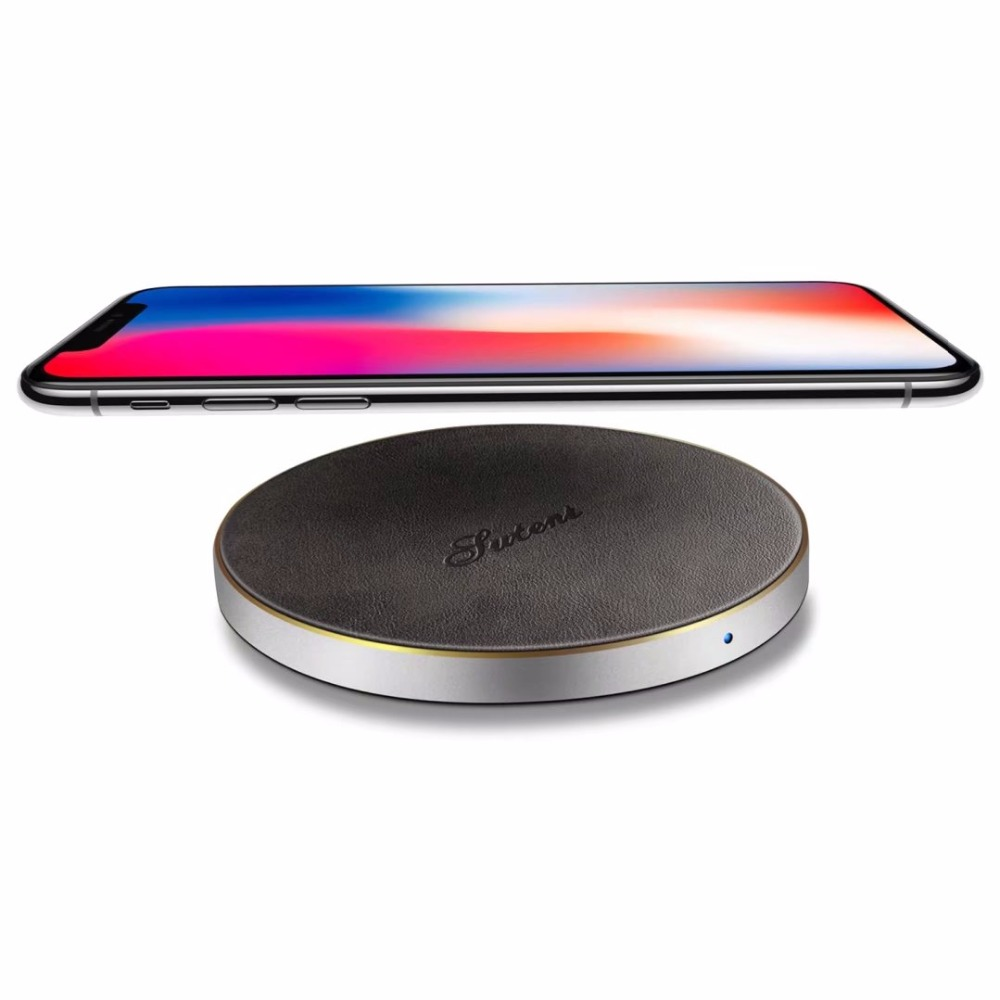 Suteni brand universal wireless fast charging for apple iPhone X 8 7 6 plus for Samsung S9 S8plus S7 S6edge and other ModelSuteni brand universal wireless fast charging for apple iPhone X 8 7 6 plus for Samsung S9 S8plus S7 S6edge and other Model