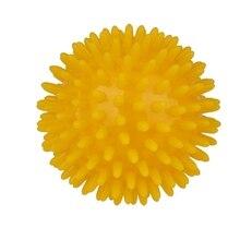 Массажный мяч B go to Picots массаж от стресса облегчение 8 см желтый