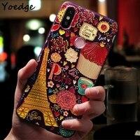 3D Flower Print Case for Xiaomi