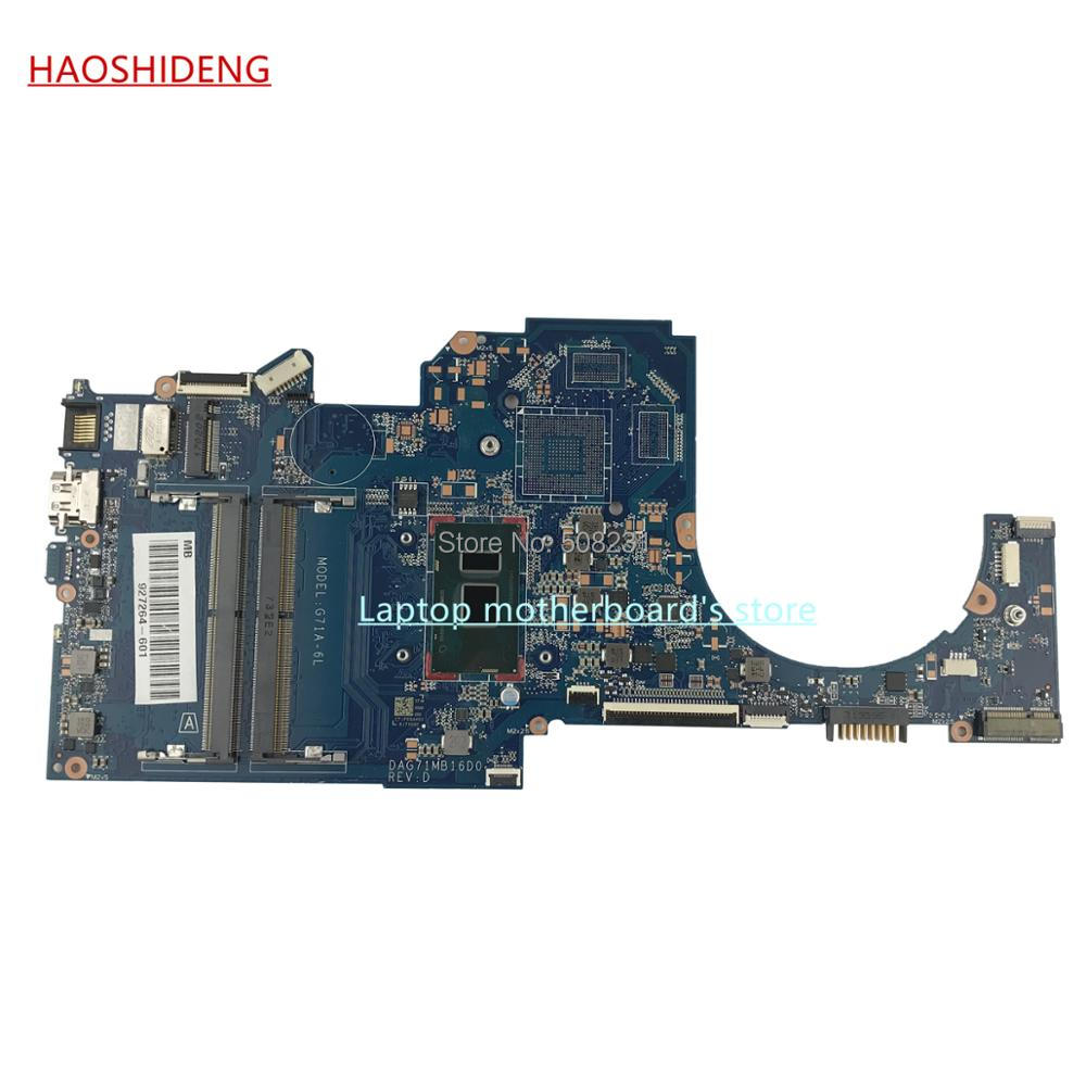 HAOSHIDENG 927264-601 G71A-6L DAG71MB16D0 for HP PAVILION 14-BK 14-BP 14-BK063ST motherboard with i7-7500U,fully Tested ...