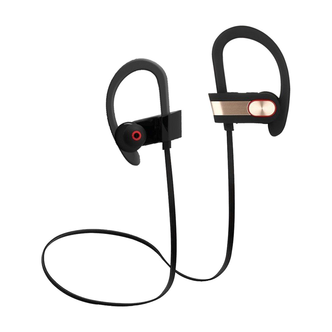 Wireless Sport Bluetooth Headset, Lightweight, Sweatproof, EarHook, for Running, Talking & Listening