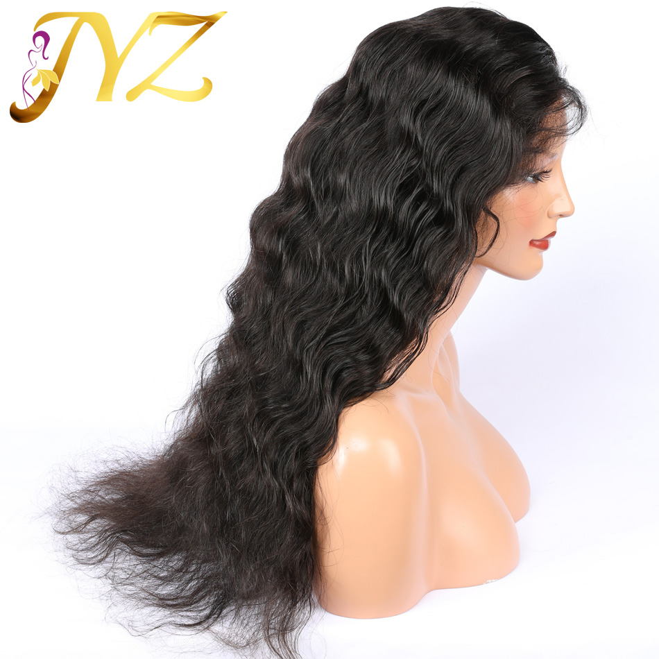 Loose Deep Wave Lace Front Human Hair Wigs 13x4 Brazilian Remy Hair Bleached Knot Pre Plucked With Baby Hair Lace Front Wigs