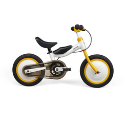 Xiaomi MiJia QiCycle rower trójkołowy skuter 12 Cal dla dzieci żółty kolor slajdów i rowerów podwójnego zastosowania 2