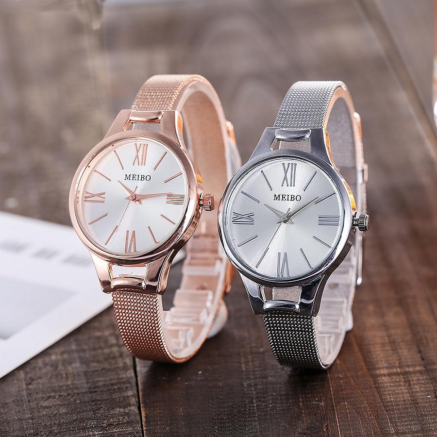 Reasonable Otoky Quartz Analog Lovers Delicate Watch Fashion Dress Female Watch Women Metal Mesh Watch Luxury Business Watches May0803 Watches