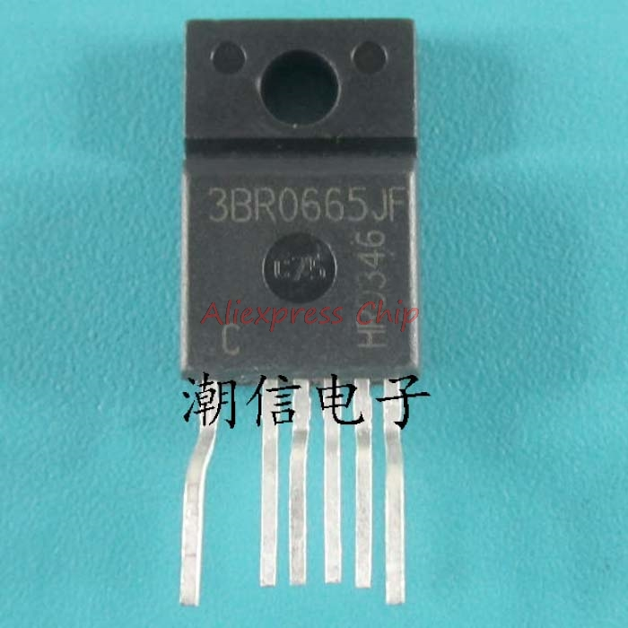 2pcs/lot ICE3BR0665JF 3BR0665JF TO-220F-6 LCD Power Management Chip In Stock