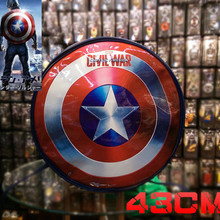 Captain America Shield Bag Backpack Cosplay Cos Prop Anime Costume Props Child Outdoor