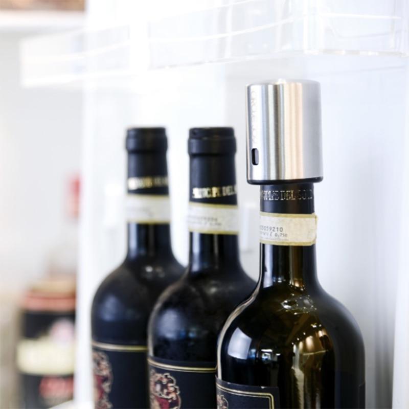 Xiaomi Smart Wine Stopper Bottle Electric Stainless Steel Vacuum Memory Corks