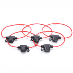 Image 3 - 5Pcs Auto Zekeringhouder Dc 12V Waterdichte Voedingscontact Mini Blade Type In Line Zekeringkasts Accessoires