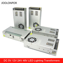 Dc 12V 24V 48V 7.5A 10A 15A 20A 30A 40A Led Driver Transformers 350W 360W 400W 480W 500W Led Verlichting Transformers voor Strip(China)