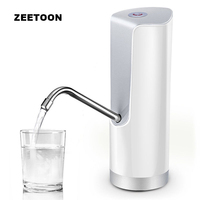 5W Outdoor Wireless Rechargeable Electric Faucet Tap Water Bottle Pump household Gallon Dispenser Drinking Camping Water Suction