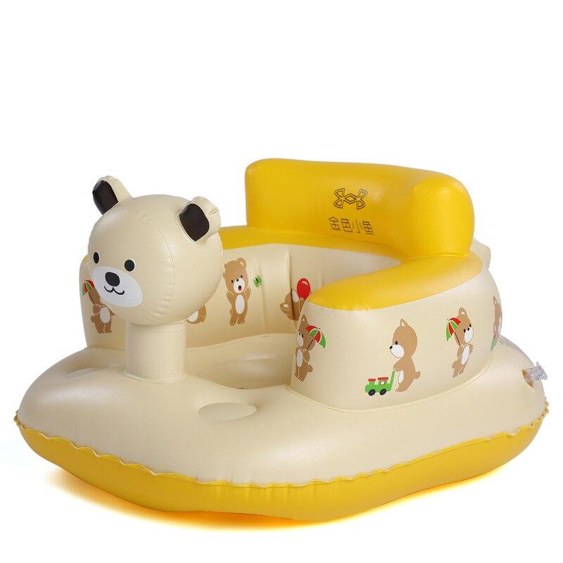 Toddler Baby Inflatable Sofa Stool Bath Tub Chair Children Bathroom ...