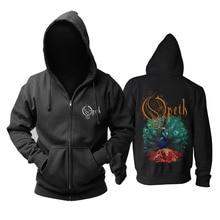 블러드 후프 Opeth 밴드 데스 메탈 mucis 새로운 지퍼 까마귀 아시아 크기