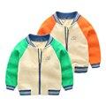 Детские куртки для мальчиков Вскользь пальто Мальчики Бейсбол пиджаки хлопок детская одежда ребенка весной