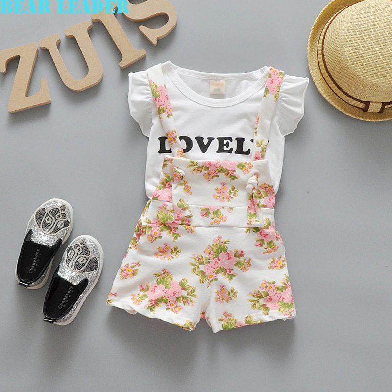 Bear Leader Baby Clothing Sets 2016 Fashion Baby Girl Boy