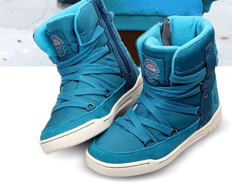 Aliexpress.com : Buy 2016 Winter Children Snow Boots Candy Color ...