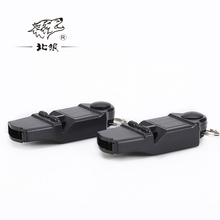North Wolf pealess mini survival whistle basketball football training match referee whistle seamless цена