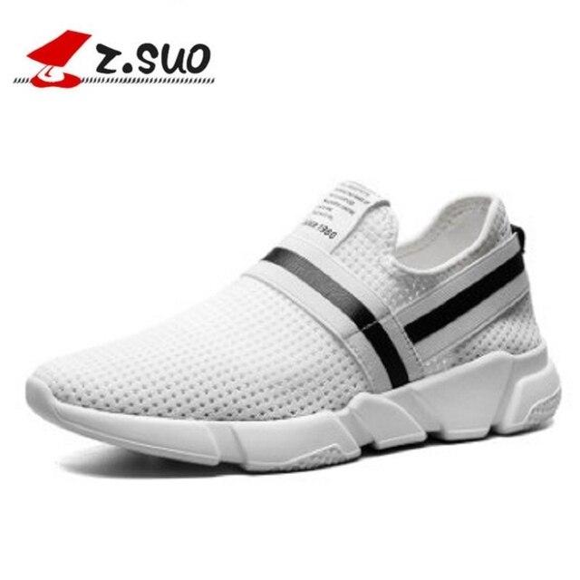 055a7e6e6 Z. suo 2018 Homem tênis sapatos Tenis Masculino Krasovki Branco Sapato  Zapatos Hombre Sapatos Masculino
