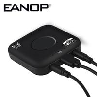 EANOP B7 Plus Bluetooth 4.2 Draadloze Audio Ontvanger Handsfree NFC 3.5 MM Dual Audio Speler Aux Auto mp3-speler