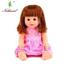 40cm riktigt återfödd nyfödd silikonvinly docka docka dockor klä leksaker tjejer levande gåvor barn Reborn