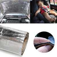 Auto toit bouclier thermique feuille de voiture Isolation acoustique Deadener bruit pour couverture (couverture) pare-feu de pilier de garde-boue