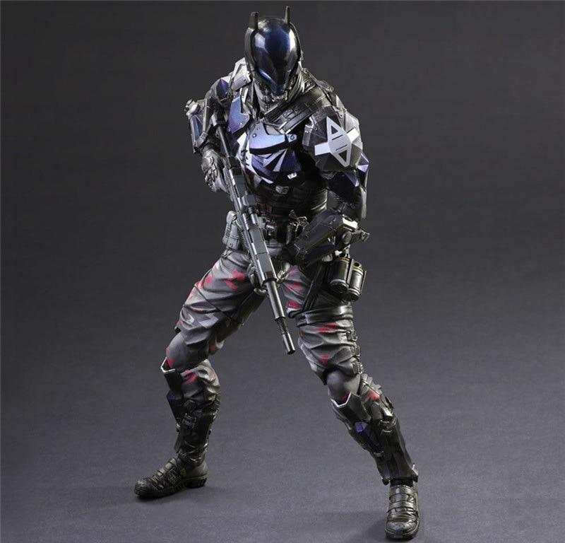 Elsadou 26cm Play Arts PA Arkham Knight Batman <font><b>Action</b></font> <font><b>Figure</b></font> Toy Doll Collection