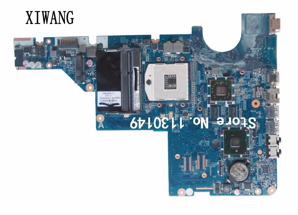 595183-001 Free Shipping For HP motherboard CQ42 G42 G62 CQ62 laptop motherboard DAOAX1MB6F0 DA0AX1MB6H0 100% Fully Tested 615578 001 motherboard for hp cq42 cq62 da0ax1mb6h0