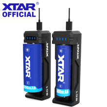 XTAR SC1 Fast Charger 3.6V/3.7V Rechargeable Li ion Batteries 18650/18700/20700/21700/22650/25500/26650 18650 Battery Charger