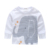 2016 Novo Terno Do Bebê Menino Roupas de Outono Longo-sleeved T-camisa Listrada + Calça Crianças Conjunto de Roupas de Bebê Pulôver de algodão Casaco BT004