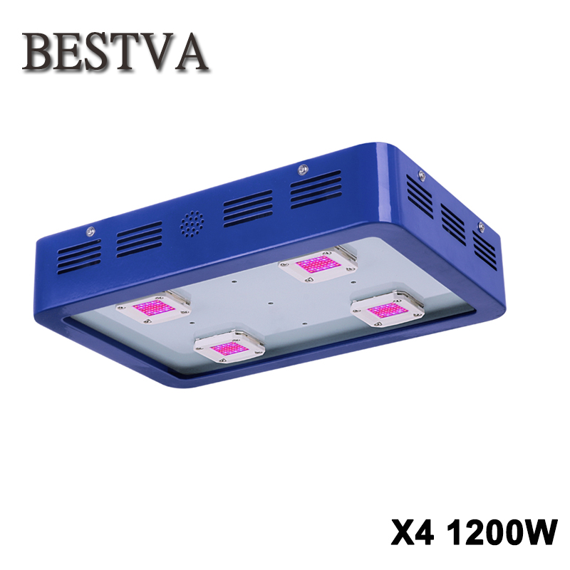 BESTVA X4 1200W LED Grow Light COB LED Grow Light Module Design Full Spectrum for Greenhouse and Indoor Plant Flowering Growing цена