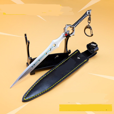 Fortnight Battle Royale Toy Model Sword Of Eternity Keychain Alloy Weapons Kids Toy Collection Decoration