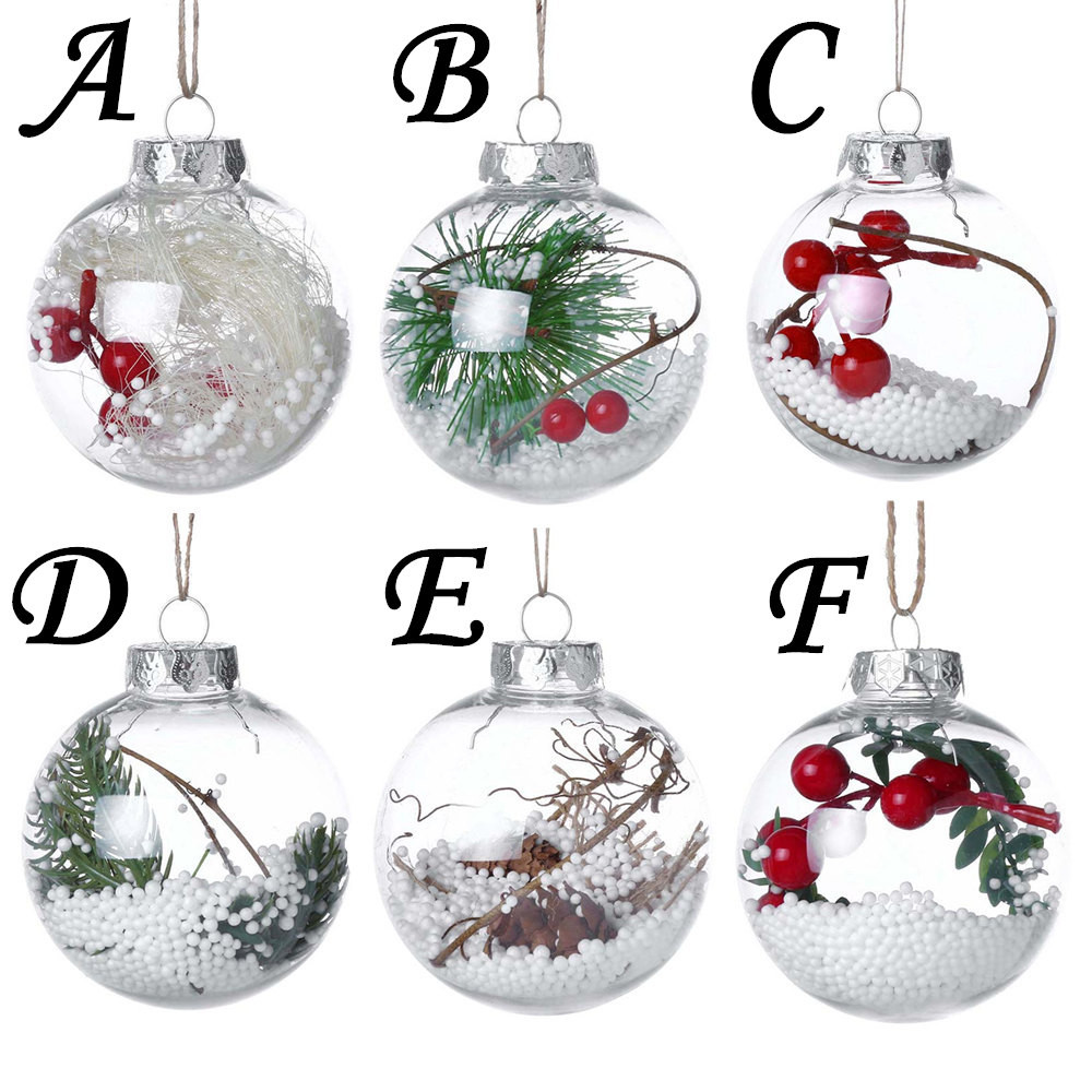 2018 Christmas Tree Pendant Hanging Home Ornament