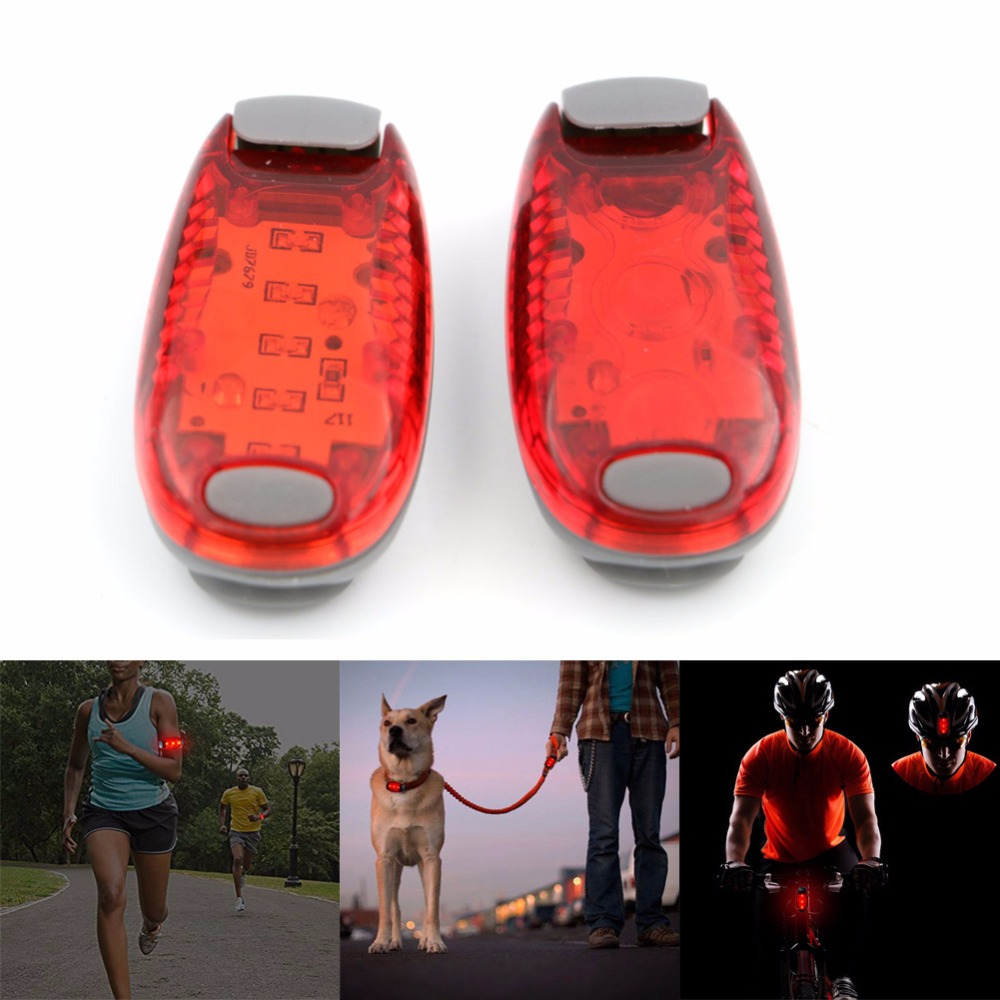 Led safety light on strobe light nighttime visibility super bright led safety light on strobe light nighttime visibility super bright running lights for runners for walkers aloadofball Image collections