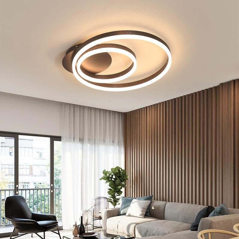 Postmodern LED1 ring / 2 rings / 3rings living room bedroom dining room ceiling lamps Commercial office ceiling lights|Ceiling Lights| |  - title=