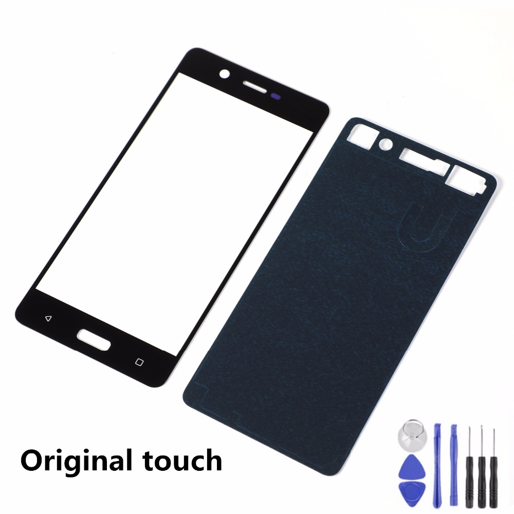 5.2 Inch For Nokia 5 N5 TA-1008 TA-1030 TA-1053 LCD Display Front Glass Touch Screen Sensor Panel+Adhesive+Tools