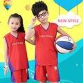 Crianças camisa de basquete 2017 nova equipe dos eua camisa de basquete roupas conjuntos para menino treino ternos de futebol