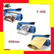 Free Shipping  Impulse Sealer, Heat Plastic Bag Sealing Machine F400, Hand Press Heating Sealer Film