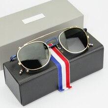 THOM BROWNE eyeglasses frames or sunglasses men and women fashion optiacl eye glasses TB710 with original box