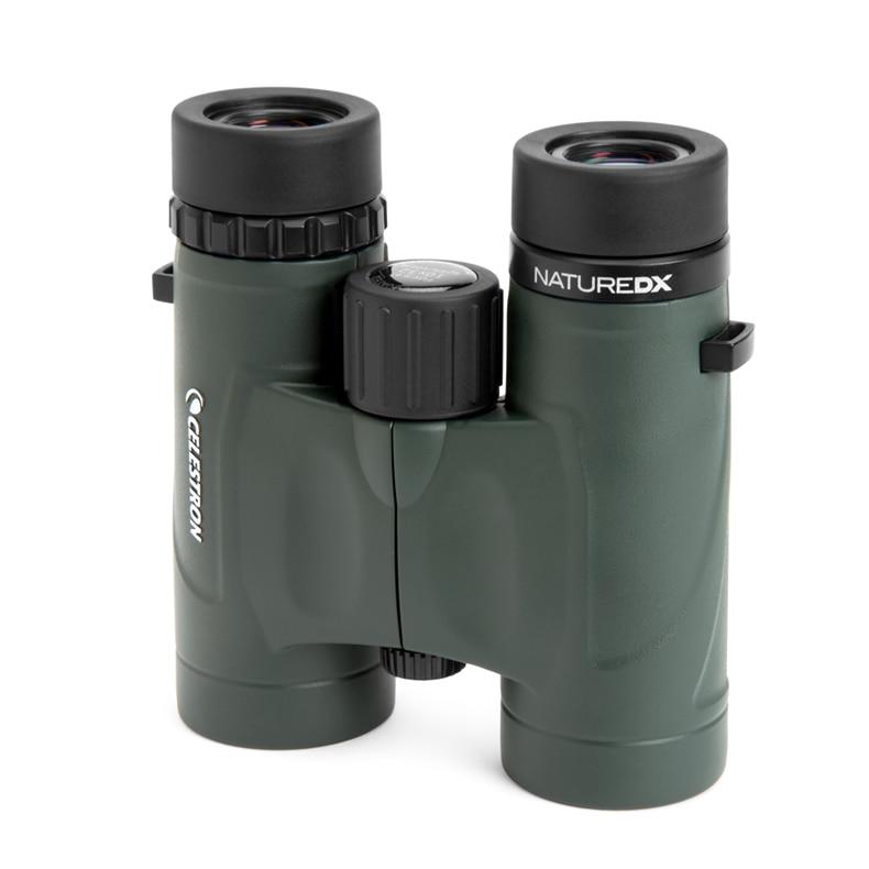 US $120 0 20% OFF|Best quality CELESTRON Binoculars telescope with BAK 4  prisms NATURE DX8*42 binocular-in Monocular/Binoculars from Sports &