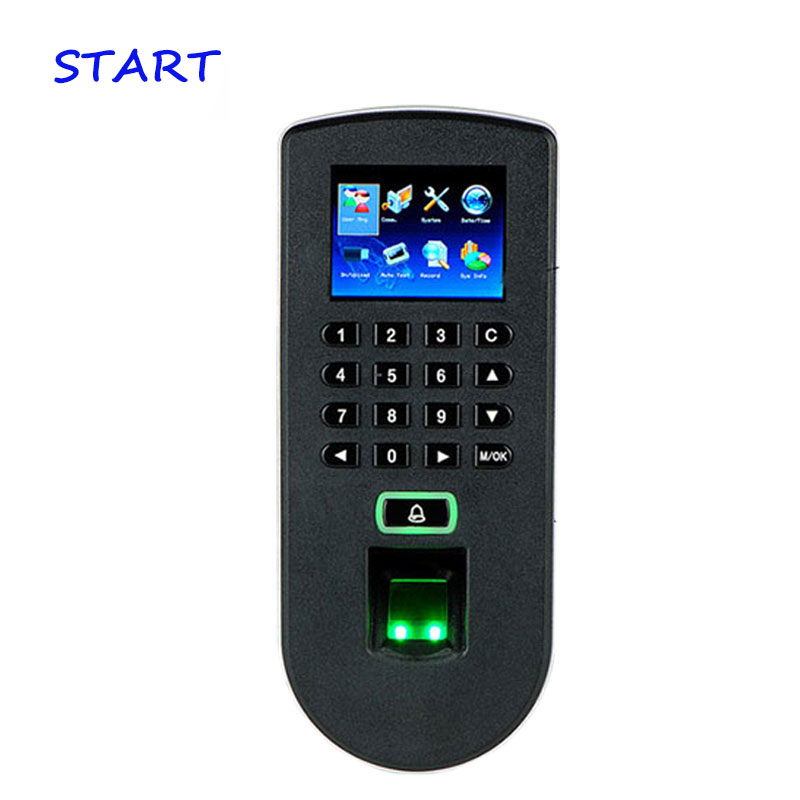ZK 1900 Fingerprint Access Control System Fingerprint Access Control Terminal TCP/IP /U Disk With FreeSoftware