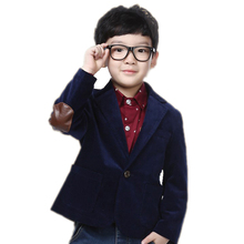 Kids Blazers Jackets 2017 New England And American Style Spring Big Boy Jackets Long Sleeve Solid